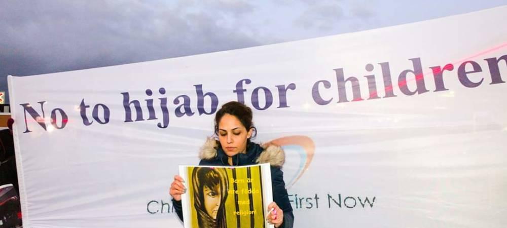 Anti-Hijab Demonstrations Target Prominent Female British Muslim Figure