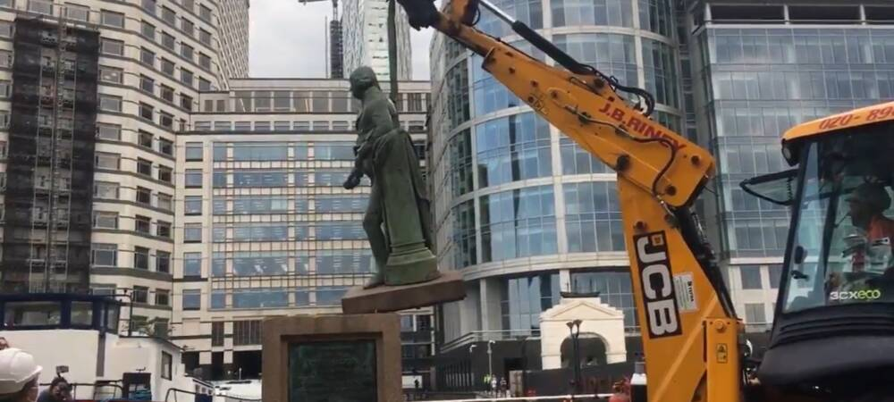 As The Statue of Another Slave Trader Is Taken Down, Britain Grapples with Symbols of Its Past