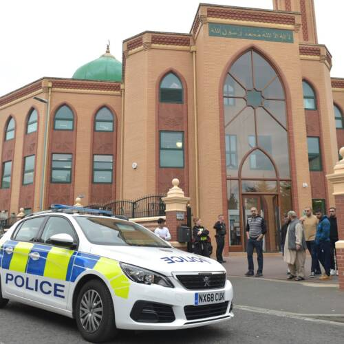 Mosques in Stockton Vandalised with Racist Graffiti
