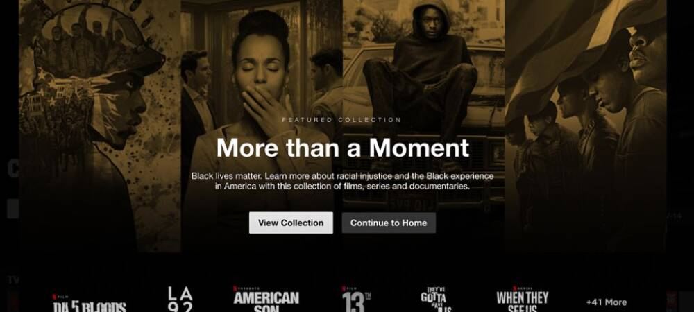 Netflix launches Black Lives Matter genre to its collection