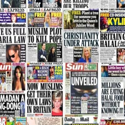 Another Report Finds Anti-Muslim Bias in British News Media