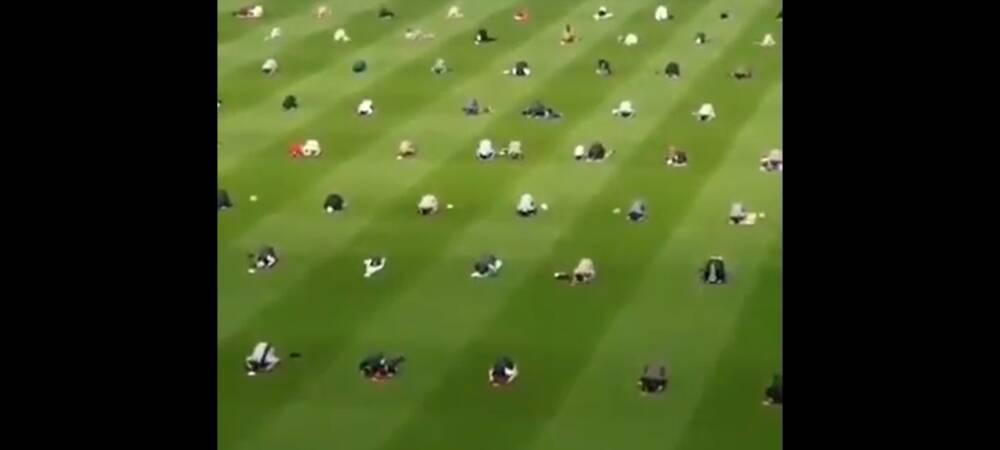 Irish Muslims Held Eid Prayers At Iconic Croke Park