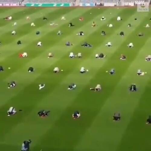 Irish Muslims Held Eid Prayers At Iconic Croke Park