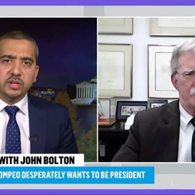 ICYMI John Bolton Deflects and Squirms during Mehdi Hasan Grilling